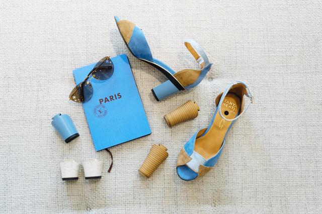TANYA HEATH Parisの靴は、ルイ・ヴィトンが発行するパリのCity Guide 2017に掲載された。靴を1万足所有しているといわれるフランスを代表する歌手アマンダ・レアの好きな靴として紹介された。