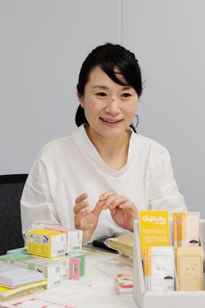 マーケティング課 係長 安村和子さん。