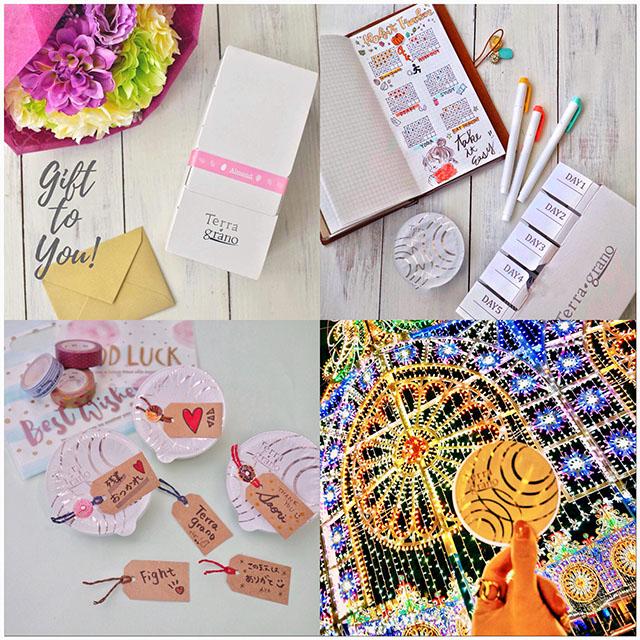 Instagramでは、「Terra grano」が日常をかわいくおしゃれに彩るイメージを展開し、そのまま商品を購入できるようにしている