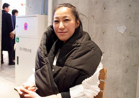 代表取締役の地野裕子さん