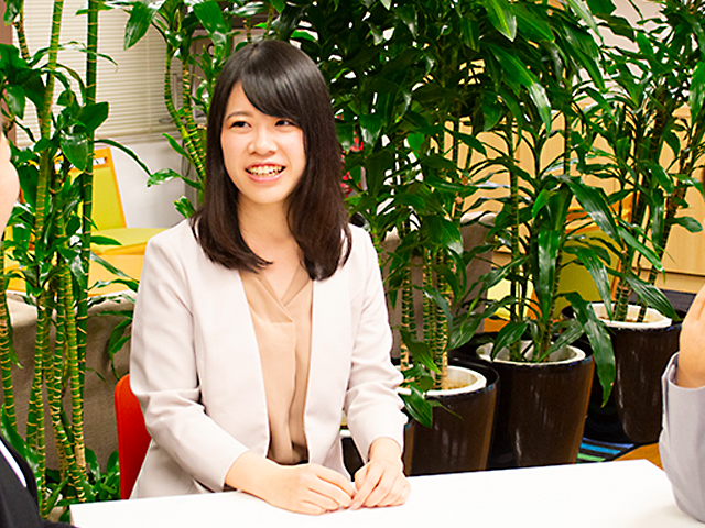 業務推進部  副調査役 吉田さん。